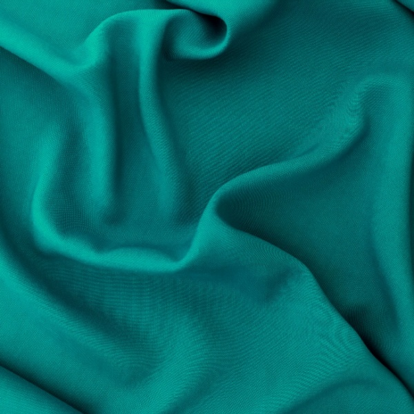 Plain 100% Viscose TEAL