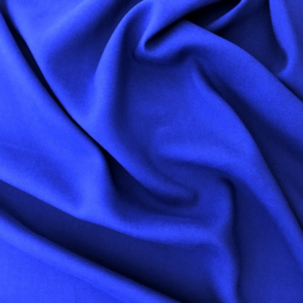Plain 100% Viscose ROYAL BLUE