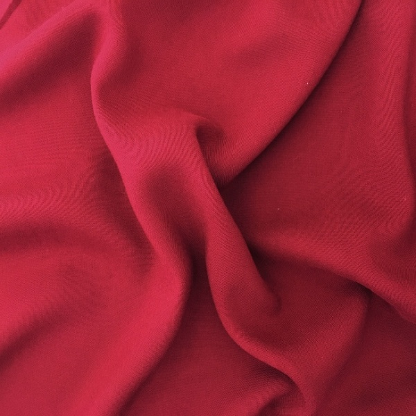 Plain 100% Viscose WINE