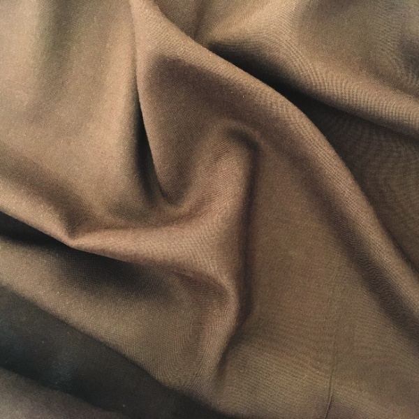 Plain 100% Viscose BROWN