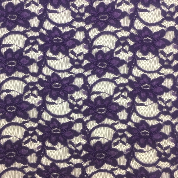 Corded Lace Purple