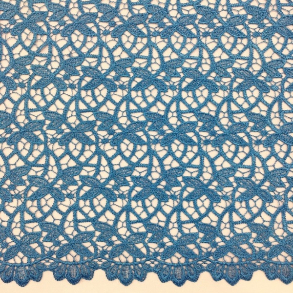 Scalloped Willow Lace TURQUOISE