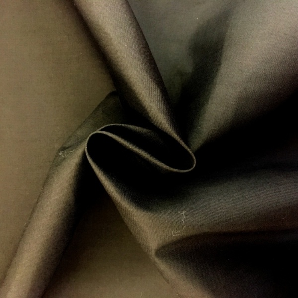 (1.4 metre wide) Polyester FLAME RETARDANT BLACK