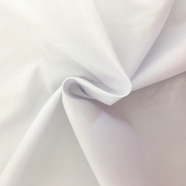 (1.4 metre wide) Polyester FLAME RETARDANT WHITE