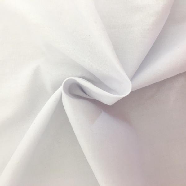 Fire Retardant White Display lining Fabric 150 cm wide