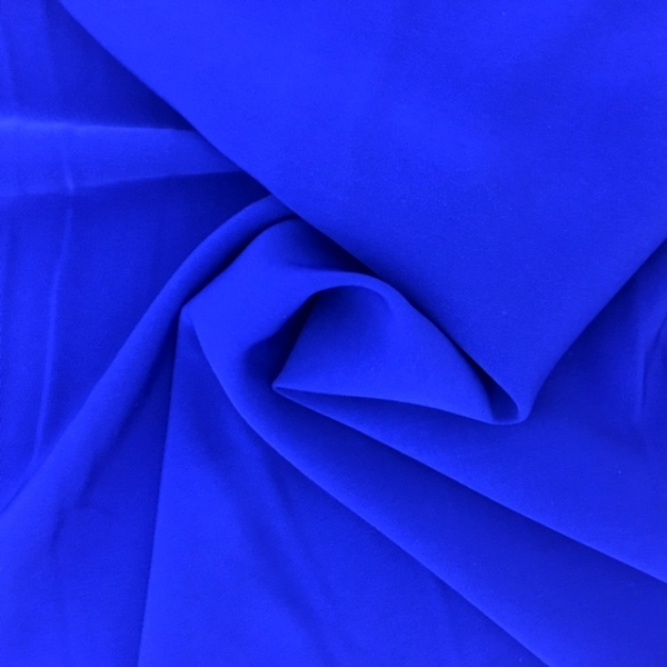 Swiss Crepe ROYAL BLUE