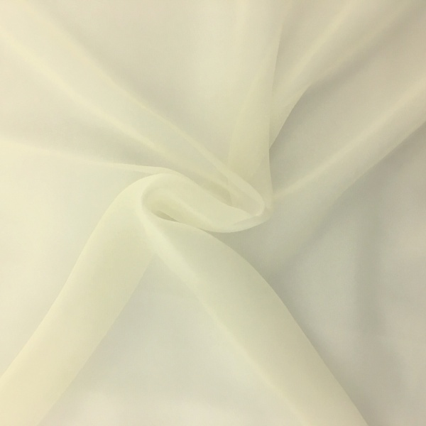 Chiffon Fabric Cream