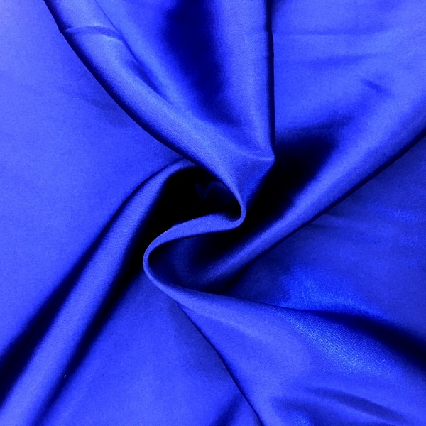 Stretch Satin ROYAL BLUE