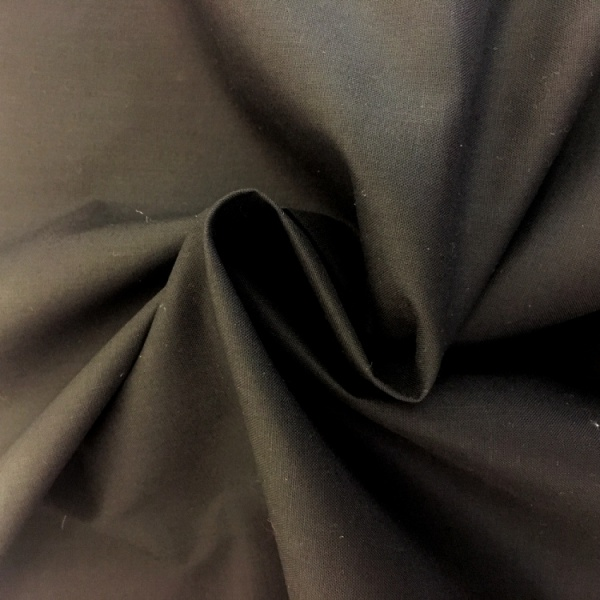100% Cotton (2.3 metre wide) Black