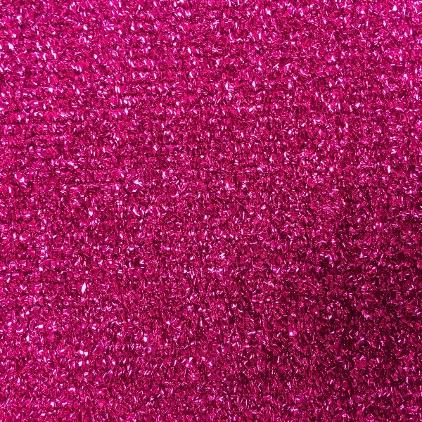 Glitter Cloth Cerise