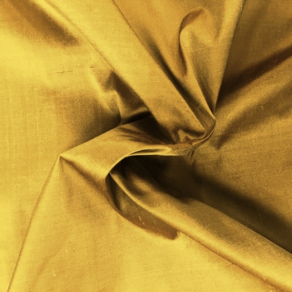 Dupion Silk - AUTUMN LEAF