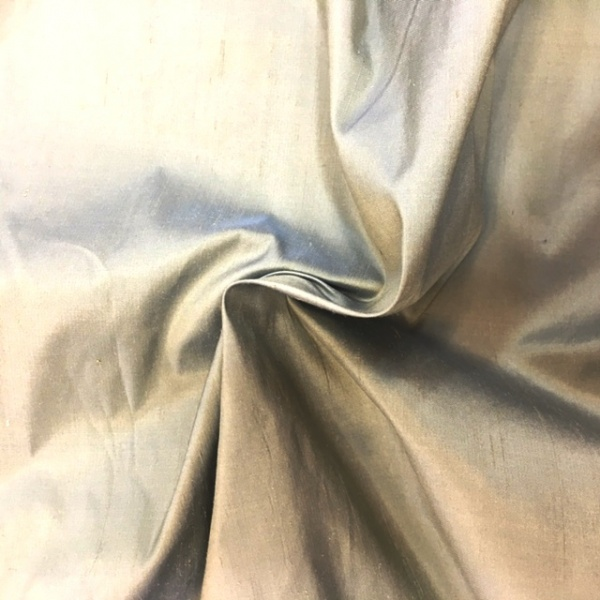 Dupion Silk - LIGHT GREY