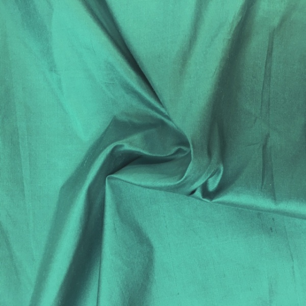 Dupion Silk - SEA JADE