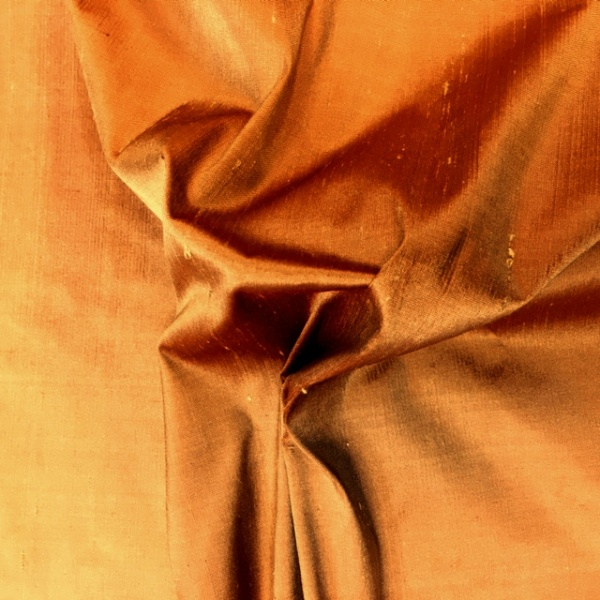 Dupion Silk - TERRACOTA