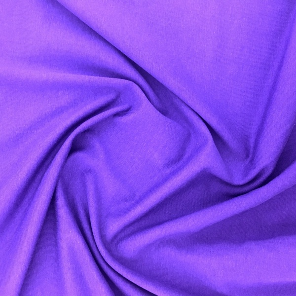 Cotton Spandex Jersey PURPLE