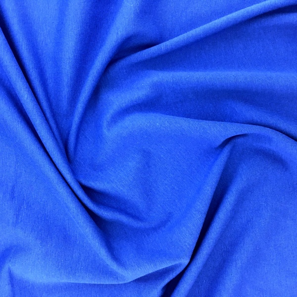 Cotton Spandex Jersey ROYAL BLUE