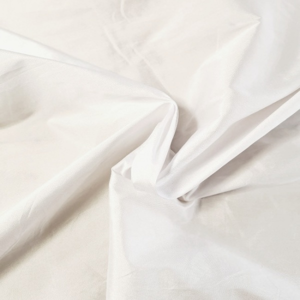 Faux Silk WHITE