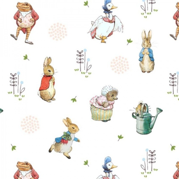 100% Cotton - PETER RABBIT DESIGN 1