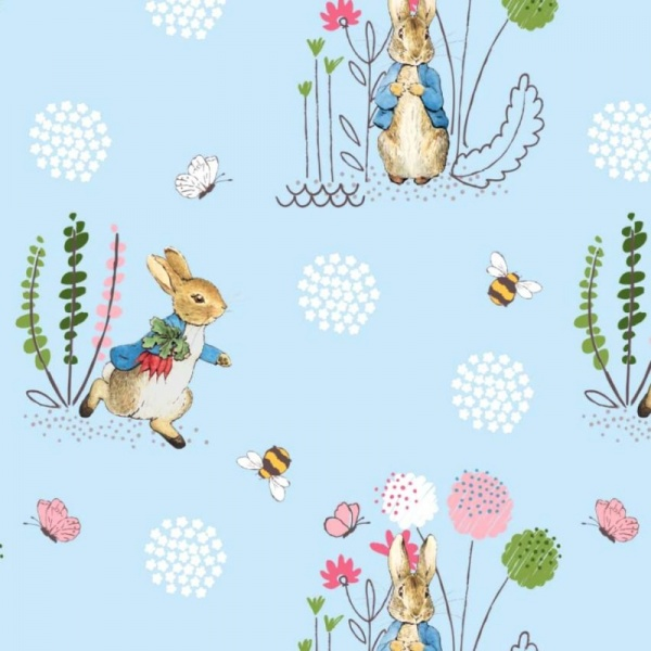 100% Cotton - PETER RABBIT DESIGN 4