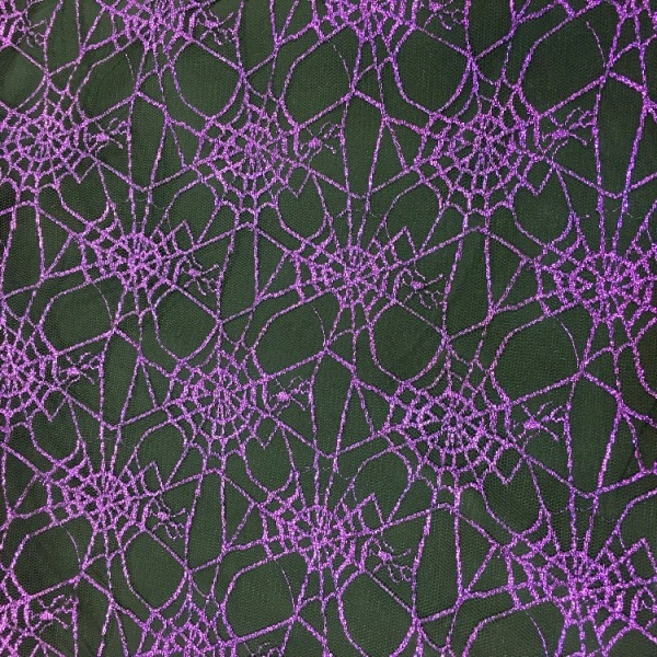 Halloween - Purple Spiderweb Net