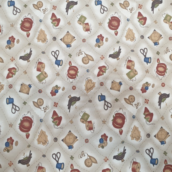 Haberdasher 100% Cotton Design 4 BEIGE