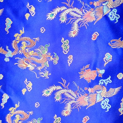 Oriental Brocade ROYAL BLUE