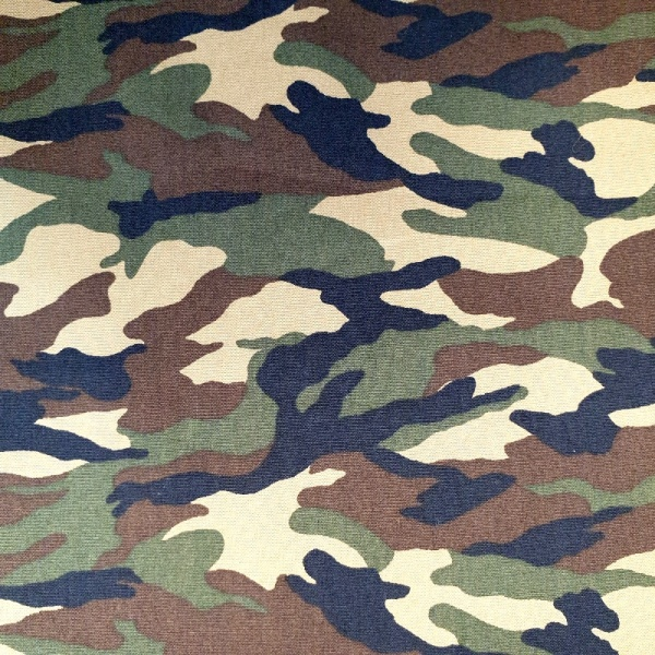 100% Cotton  Camouflage - JUNGLE