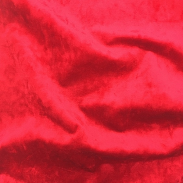 Marble Velour Ruby Red