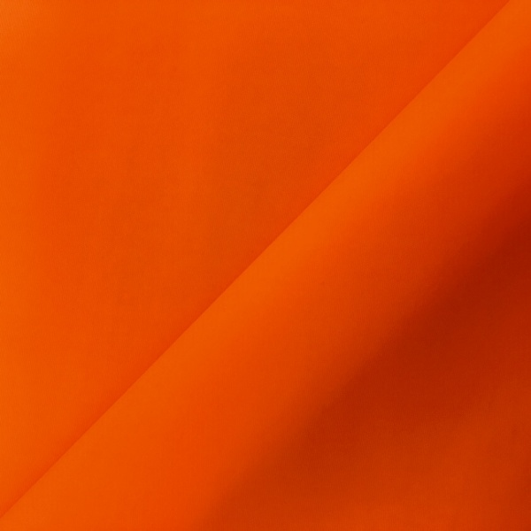Waterproof Polyester FLUORESCENT ORANGE
