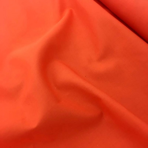 Budget Polycotton by the Roll - ORANGE