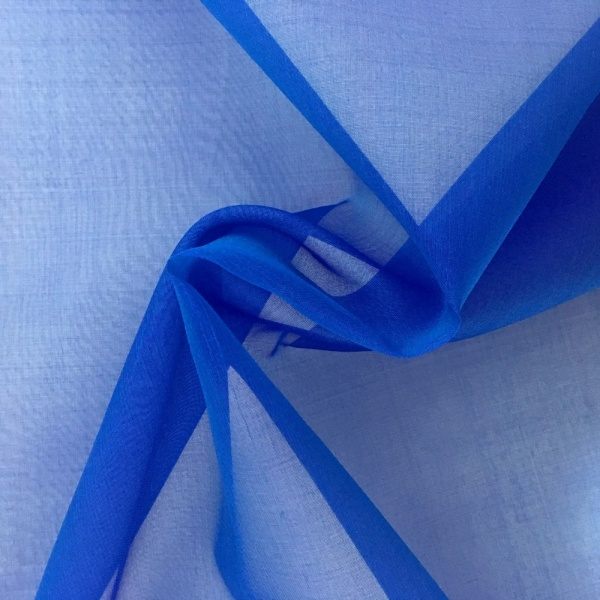 Silk Organza BLUE