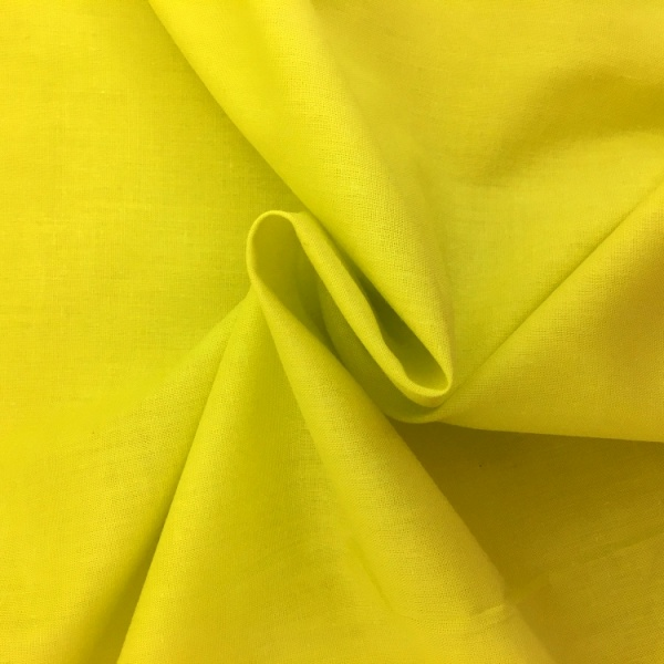 2.3 metre Polycotton YELLOW