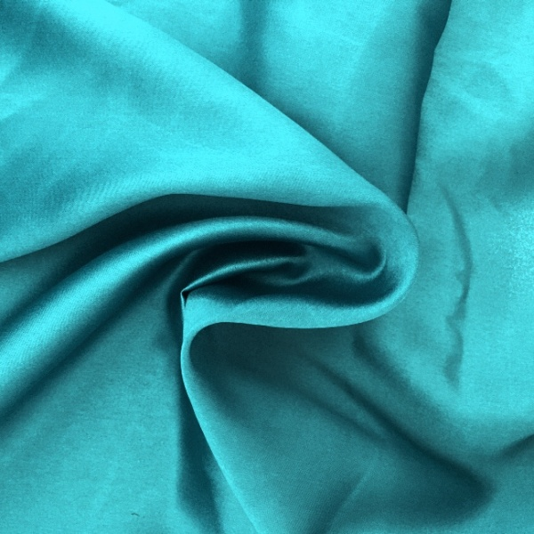 Liquid Satinby the Roll - TURQUOISE