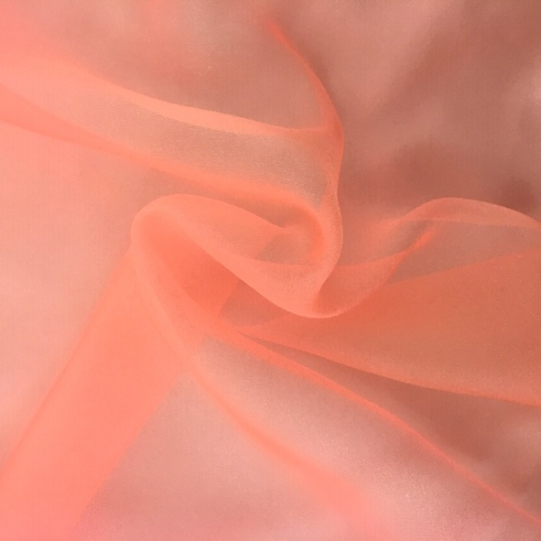 Crystal Organza PEACH
