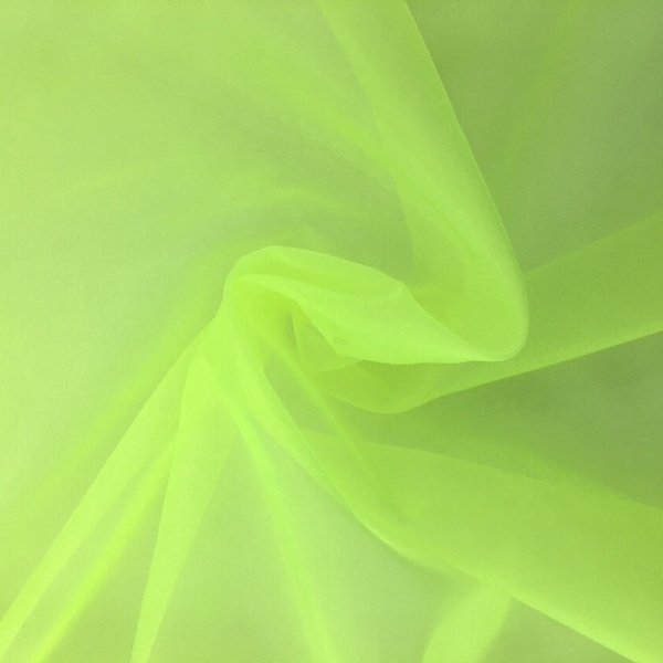 Crystal Organza FLUORESCENT YELLOW