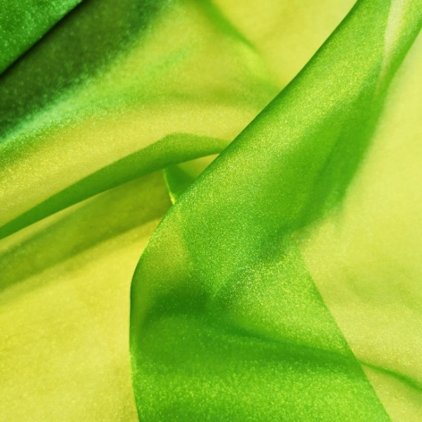 Crystal Organza LIME GREEN