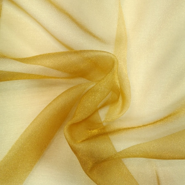 Crystal Organza ANTIQUE GOLD