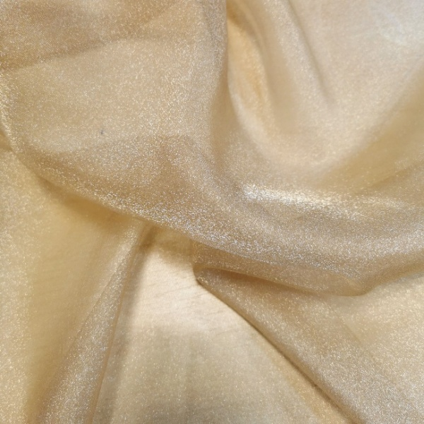 Crystal Organza LIGHT GOLD