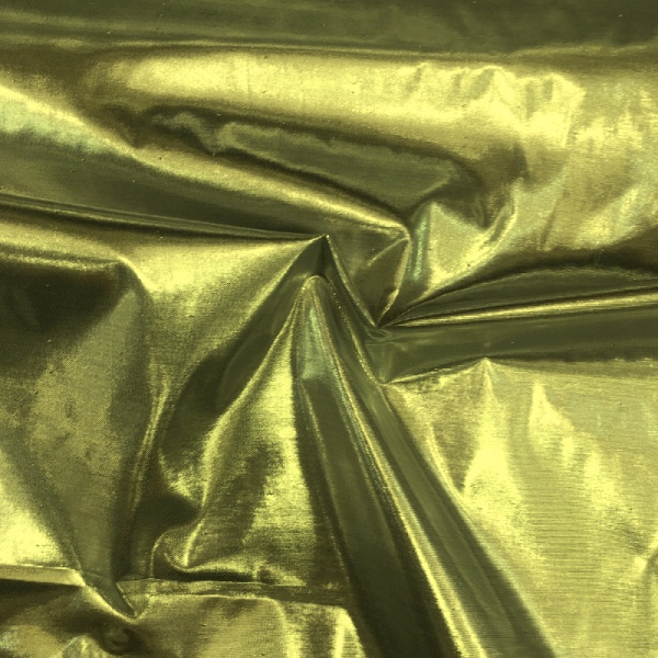 3m Wide Lame NDFR Gold