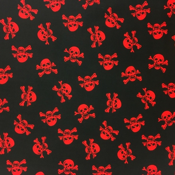 Skulls RED and BLACK