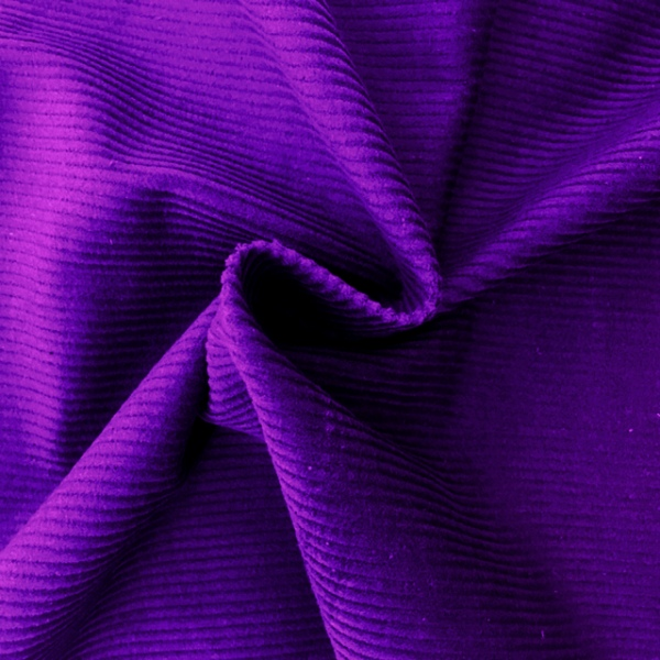 Corduroy Cotton 8 Wale PURPLE