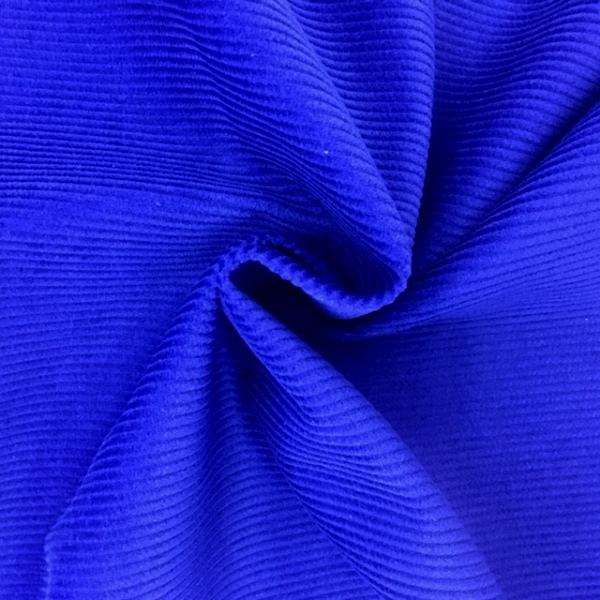 Corduroy Cotton 8 Wale ROYAL BLUE