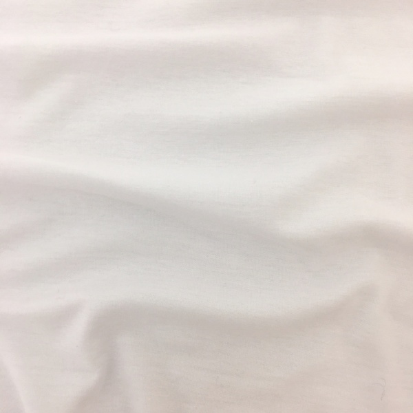 Cotton Jersey WHITE