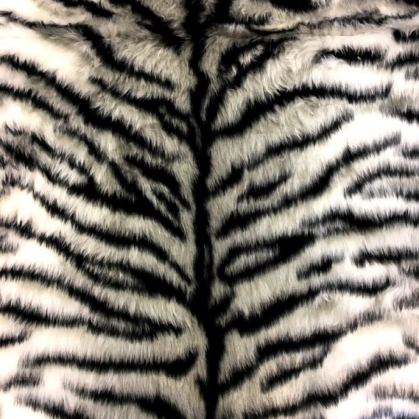 Novelty Fur Black Tiger Fur