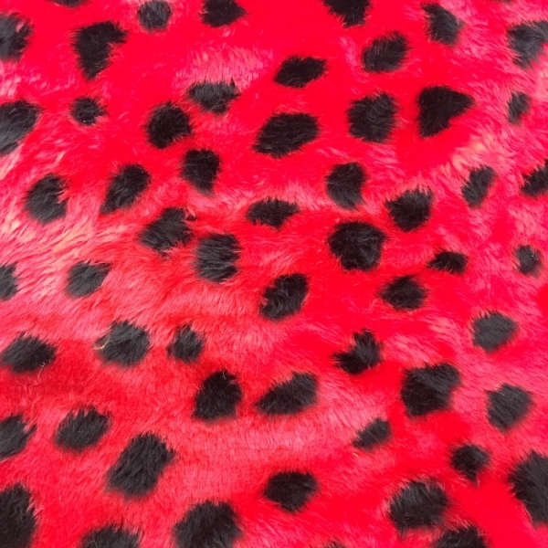 Novelty Fur Ladybird Fur