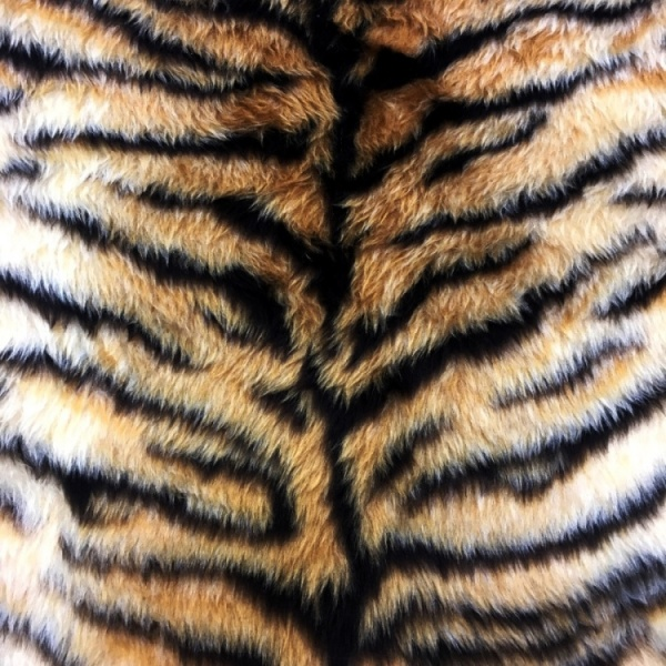 Novelty Fur Tiger Fur