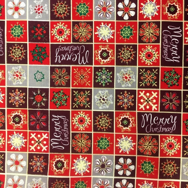 Patchwork Xmas MULTI