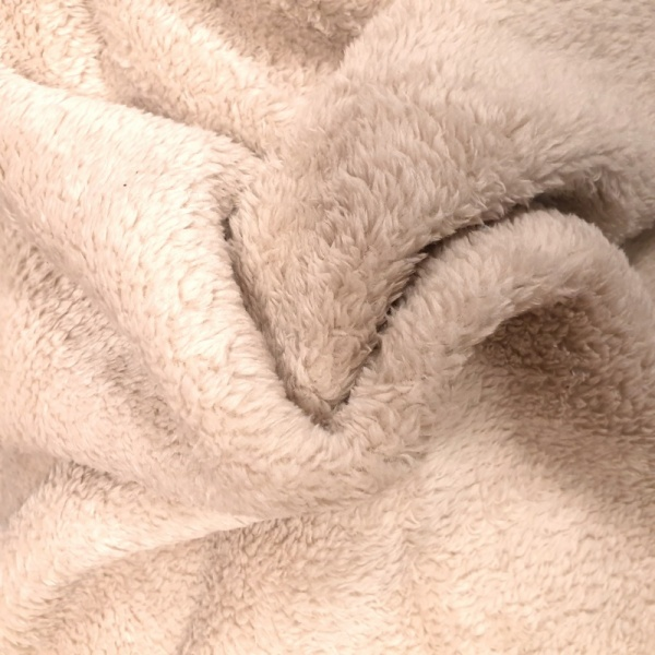 Fluffy Fleece - BEIGE