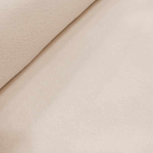 Plain Fleece Fabric  BEIGE