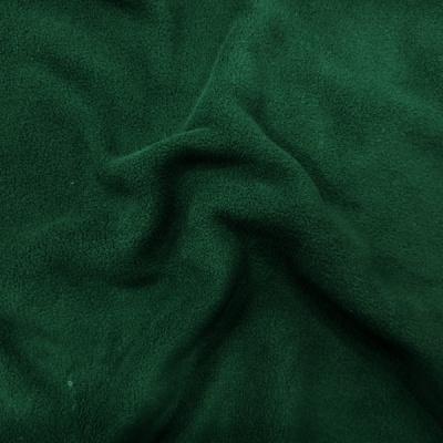 Plain Fleece Fabric  DARK GREEN